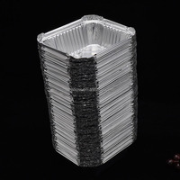Christmas promotion disposable aluminum foil food container