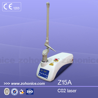 CO2-Z15A rf excited co2 ultra pulse fractional co2 laser ce with ceagina cleaning machine