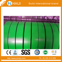 ppgi prepainted galvanized steel coil knifing in stripe,width can be made as your requirment