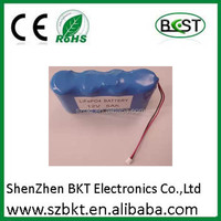 12v small rechargeable battery e-hookah rechargeable battery