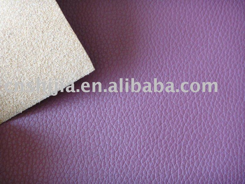 PU leather for sofa- flame resistant quality BS5852