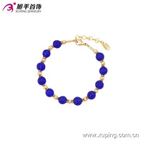 73939- xuping fashion jewelry special gold design girls friendship bracelets