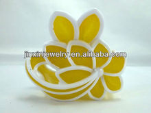 Hot Sale Flower Pattern Plastic Hair Claw Clip For Fashion Woman