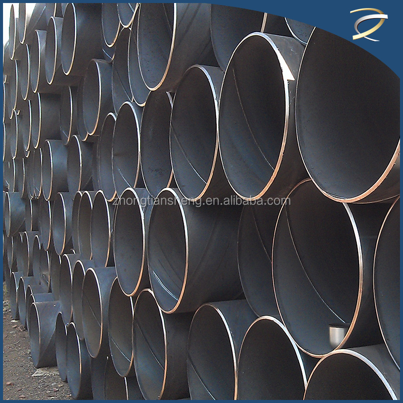 ew spiral welded steel pipe alloy pipe for water supply/api 5l gr b pipe