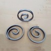 Forged steel components, wrought iron railing parts for fence, gate and stair railings