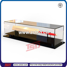 TSD-A5108 acrylic cricket bat display case,square acrylic container,customized transparent acrylic box