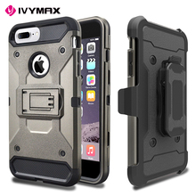 Fit for iphone 8 plus phone case wholesale belt clip holster phone cover for iphone 8 plus