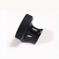Customized CNC Lathe Machining Knurled Knob