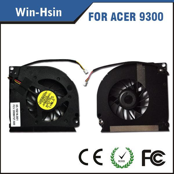 New forcecon laptop fan for acer 9300 7000 7100 7110 9400 9410z 9420 laptop cooling fan 23.10214.001