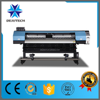 use eco solvent ink , 3.2m eco solvent printer with double DX5/DX7 printhead for vinyl/wallpaper/flex banner in Guangzhou