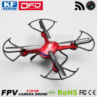 DFD F181W 2MP HD WiFi Video Camera Quadcopter Drone Toy Airplane