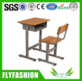 SF-10S Hot Sale Classic Design Factory Price Single Student Desk and Chair/Used School Furniture for Sale/Adjustable Chair Desk