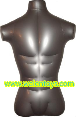 Hot Sale Inflatable Torso Mannequin,PVC Inflatable Male/Female Mannequin