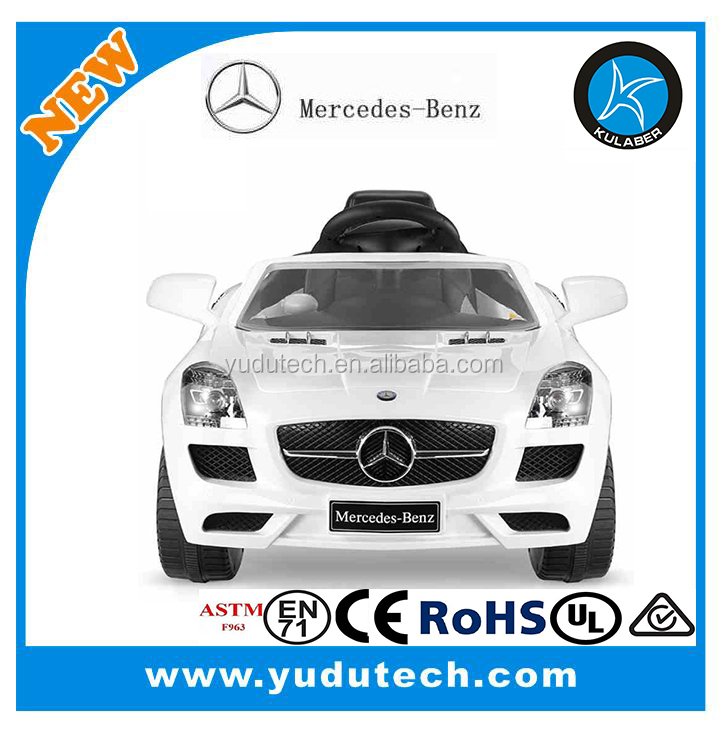 Mercedes Benz SLK Class 6V Kids Electric Ride-On Car with MP3 and Remote Control