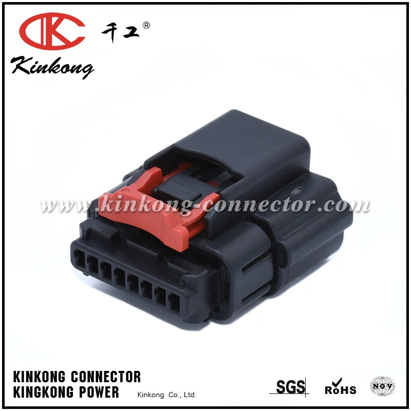 8 Pin Female waterproof JST automotive connector