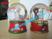 45mm Diameter 2013 Hot Seller Good Gift Home Decoration IDEAL Company Snow Globe
