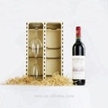 Classical High Quality Wine Gift Box With Handle Wooden Wine Box