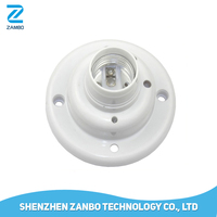 E27 Screw RF Wireless Remote Control Lamp Holder with Base for Smart Home Control