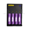 100% genuine nitecore i4 intelligent smart sysmax charger for 18650 batteries vs d2 d4 i2 charger from efest