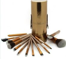 natural hair mak up cosmetic brushes