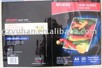 A4 Lucky photo paper ( 200g )