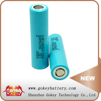 Samsung 25R 2500mAh 3.7V 35A Discharge Current 1 x 18650 rechargeable battery