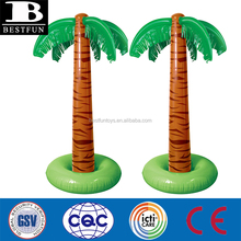durable plastic inflatable palm tree large inflatable 3D palm tree toys