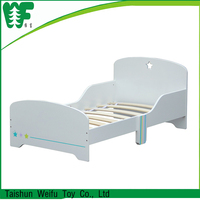 Best price white wooden kids play bed