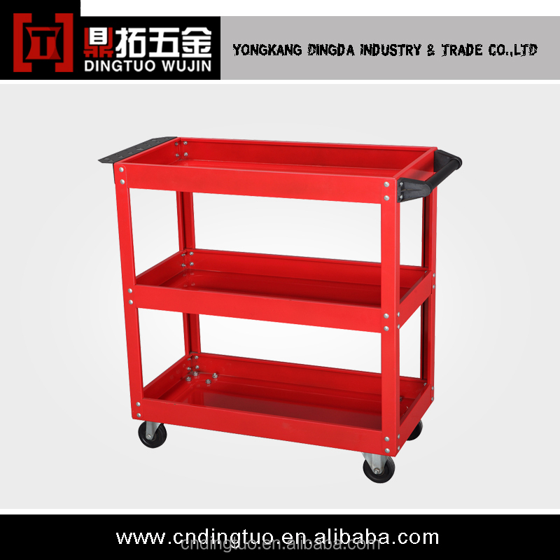 Detachable Design Heavy Duty Kraftwelle Tool Trolley Transport Tool Cart DT-231