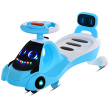 Wiggle Car Ride On Swivel Scooter Children Toy Kids Swing Car For Girls or Boys