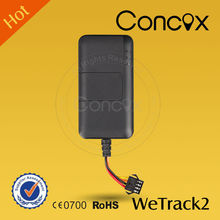 2015 Concox Small/Smart Wetrack2 GPS GSM Tracker Online Navigation GSM Tracking with Real Time Tracking Your Car
