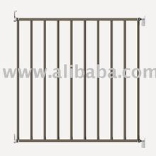 Vasco baby metal safety gate grey color