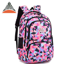Popular Colorful Children Girls Student Back To School Bags Backpack For Sale