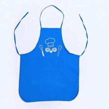 Custom Design Aprons Kids Sets for Cooking with printed Logo