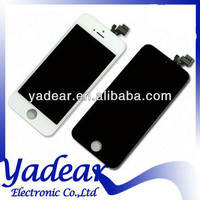 New Arrival original lcd for iphone 5 digitizer low price for iphone 5 lcd touch for iphone 5 screen display