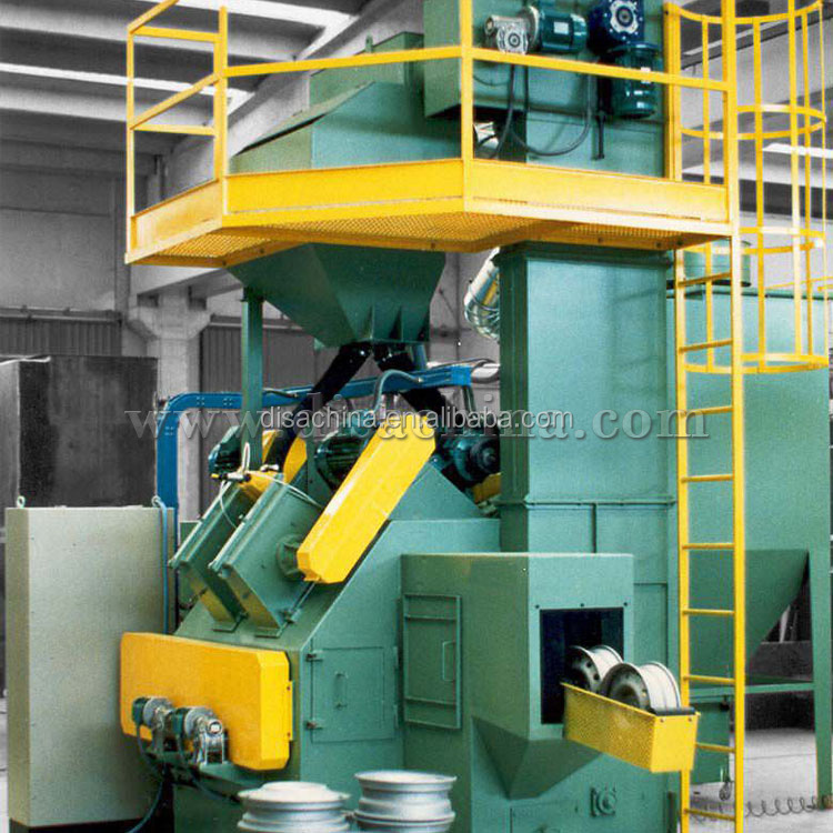 Wheel Hub/Wheel Disk Shot Cleaning Equipment/Shot Blast Machine