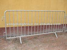 2012 super hot galvanized metal crowd control barriers(factory direct)