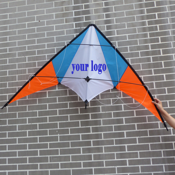 custom logo printing stunt kite from the kite factory