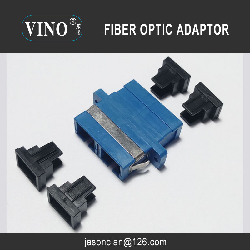Fiber Optic Adapter SC PC UPC APC Duplex Singlemode multimode