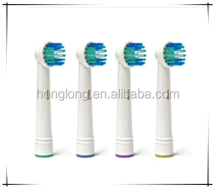 Changeable head rechargeable electric toothbrush head