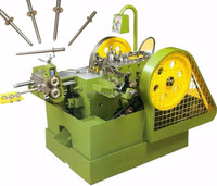 High speed rivet cold heading machine