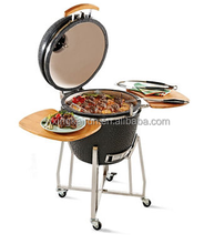 Top Sale 21 Inches Ceramic Kamado, Kamado Grill, wood fired pizza oven