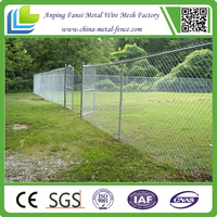 Cheap price factory of galvanized Chain Link Fence,diamond wire mesh fence