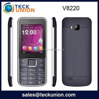 V8220 2.4''low end feature mobile phone low pirce china mobile phone for Senior
