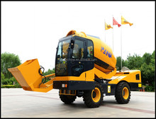 Building materials mixer truck/Heavy Duty Concrete Mixing Transport Truck