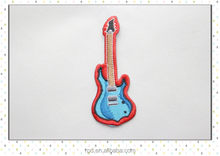 custom stick-on baby cut guitar Styles embroidered patches