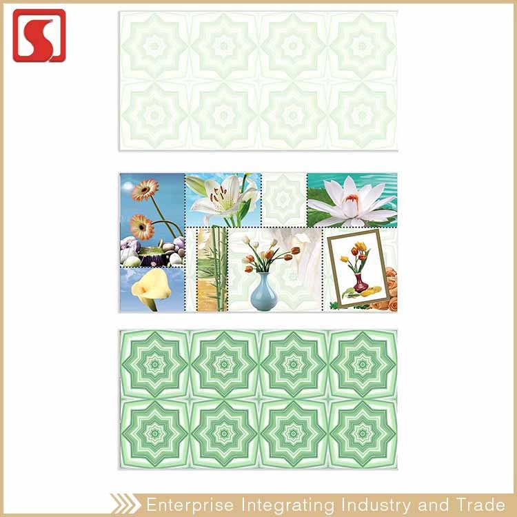 China 3D 200X600Mm Green Mosaic Manufacture Tile