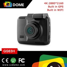WIFI 4K car video recorder dashcam built in GPS dashcam 170 degree wide angle lens patent design car dvr recorder dashcam 2.4 ""