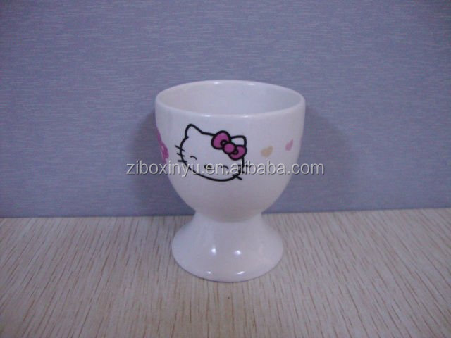 ZIBO XINYU XY-0798 New Style Ceramic Wine Cup with Cute Printing