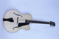 "MUSOO BRAND Handcrafted Archtop 17"" Jazz Guitar With Hardshell Case(AR100)"